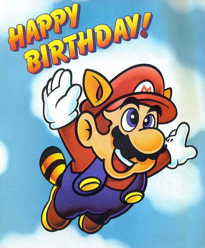 Happy Birthday Happy Birthday Mario Characters Birthday