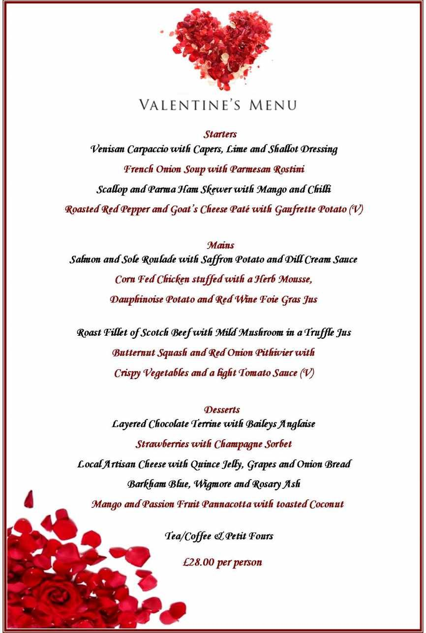 Image Result For Valentine Day Menu Valentine Party In 2018
