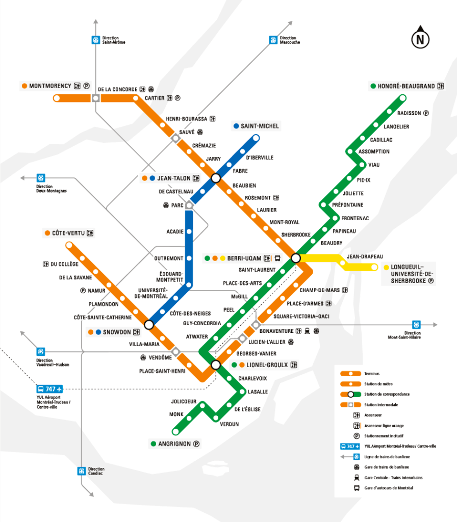 Subway Montreal Map.Montreal Metro Map Montreal Metro Map Montreal Metro Map In 2020 Metro Map Nyc Subway Map Subway Map