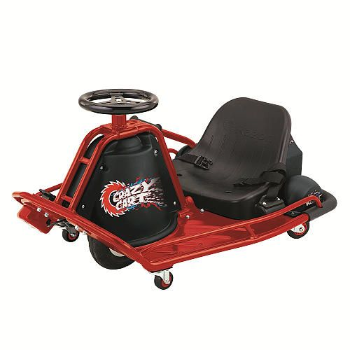the ultimate toy razor crazy cart electric drifting gokart