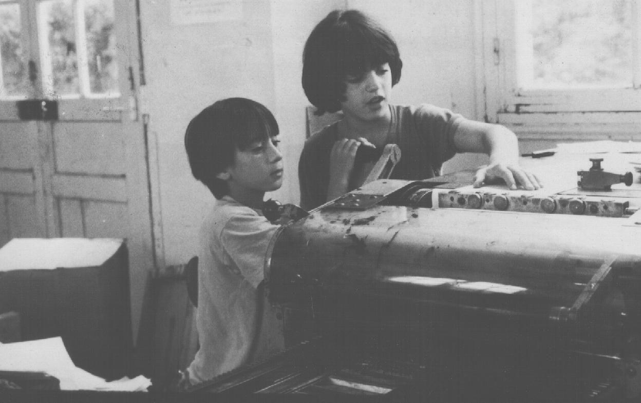 L'imprimerie pour les enfants: Ecole Freinet