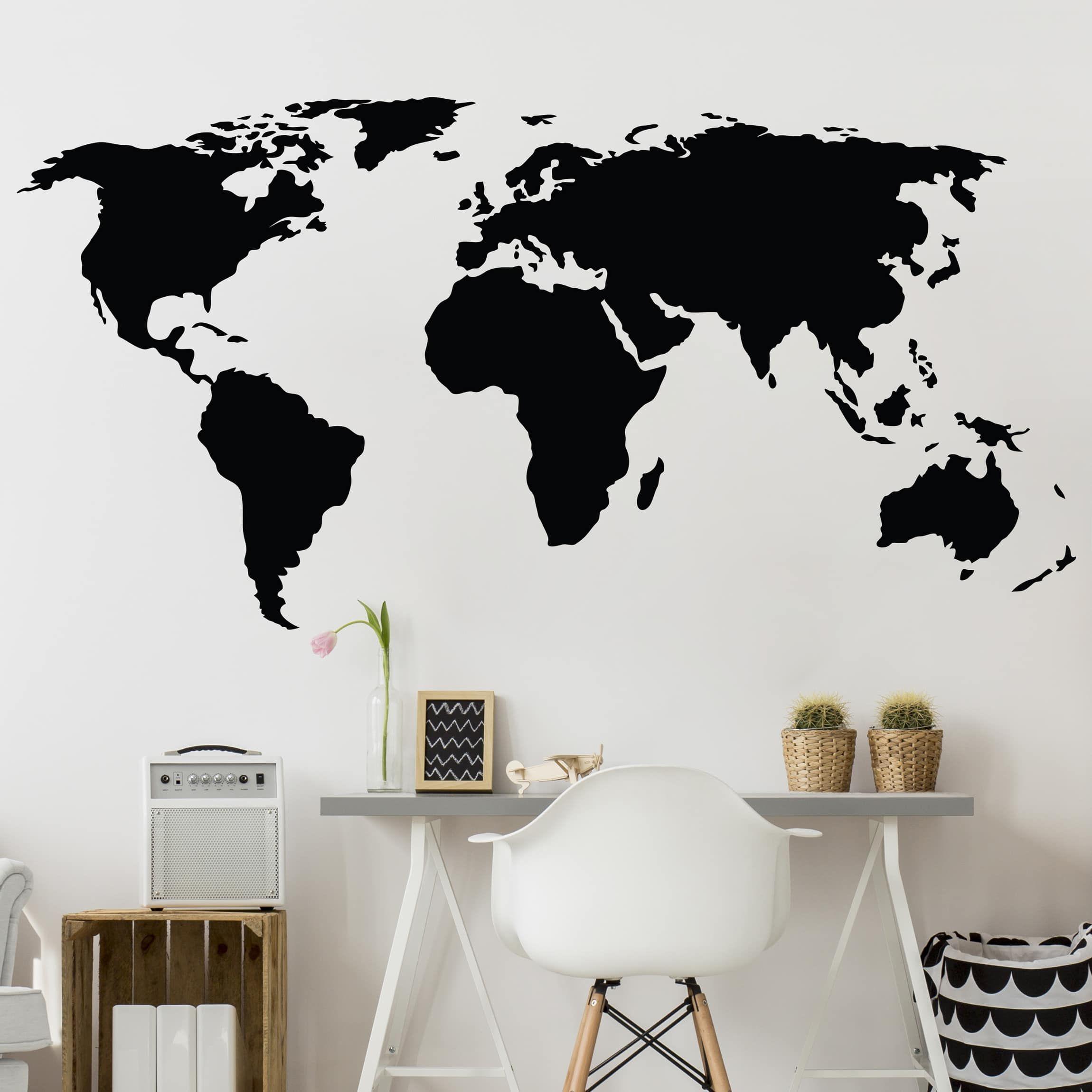 Cartina Mondo Ikea.Adesivo Murale Mappa Del Mondo Ii Idee Camera Da Letto Ragazza Idee Camera Da Letto Ikea Idee Camera Da Letto