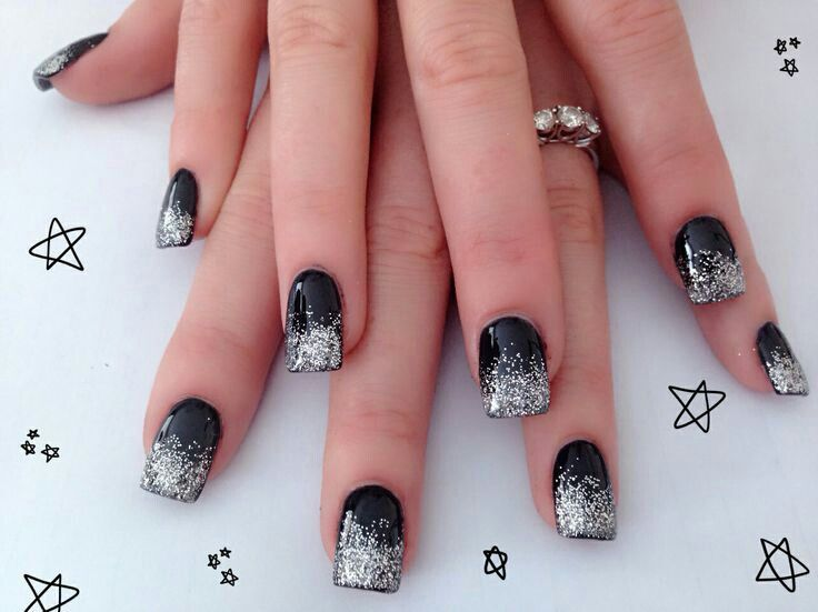 There Are So Many Types And Styles Of Nail Designs 2015 Are Available. Find  The 30 Quick And Easy Silver Nail Design Ideas 2015 In London, UK.