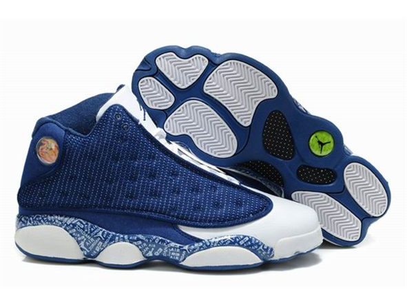 Nike Jordan Shoes for Men   nike air jordan shoes 13 new color blue white