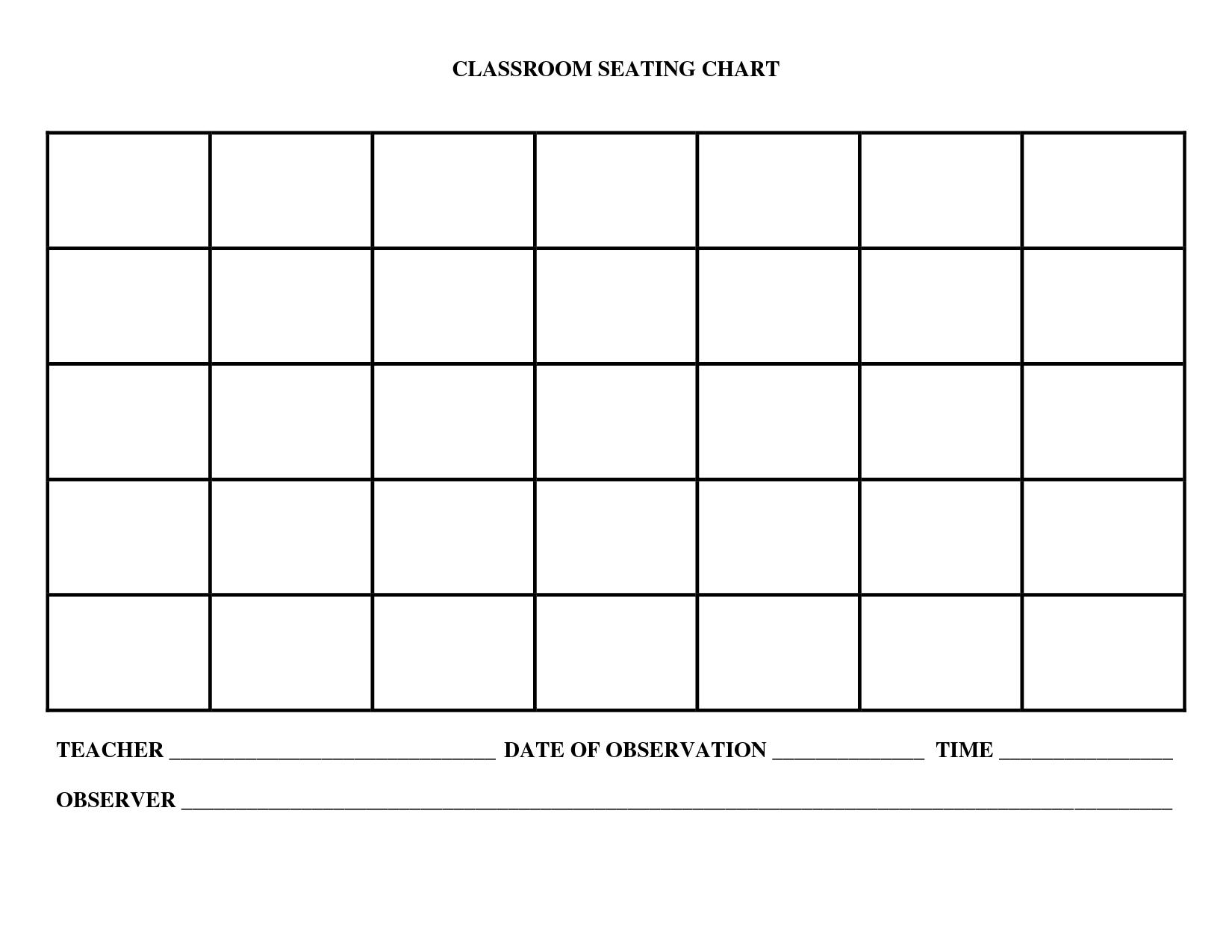 Classroom Charts Printable