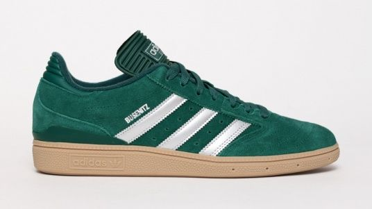 best sneakers e8398 589a3 adidas Busenitz - Green   Silver
