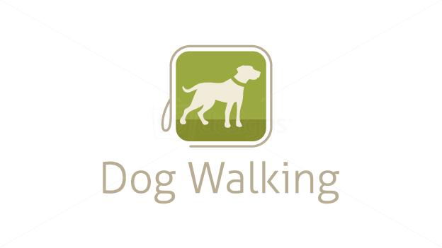 Dog walking company logo - sample