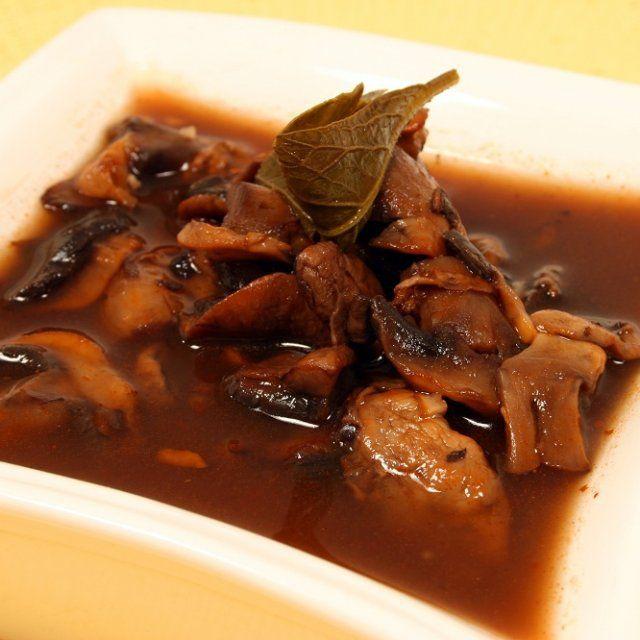Sopa de Hongos Baja en Grasa