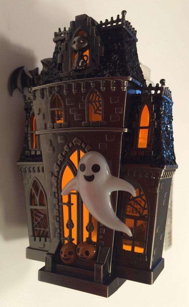 bath body works haunted house 2016 wallflower diffuser halloween w light new ebay