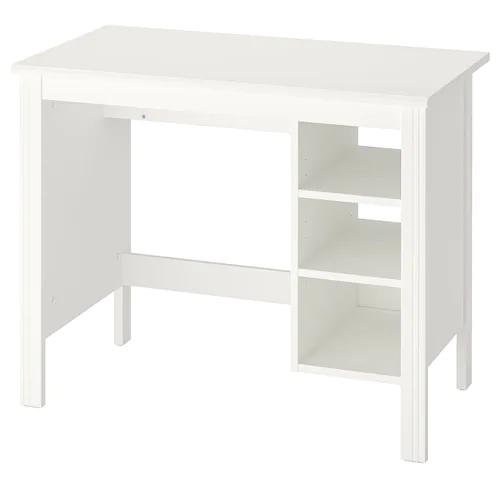 Desks For Home Ikea Switzerland In 2020 Ikea Brusali Home Desk White Desks