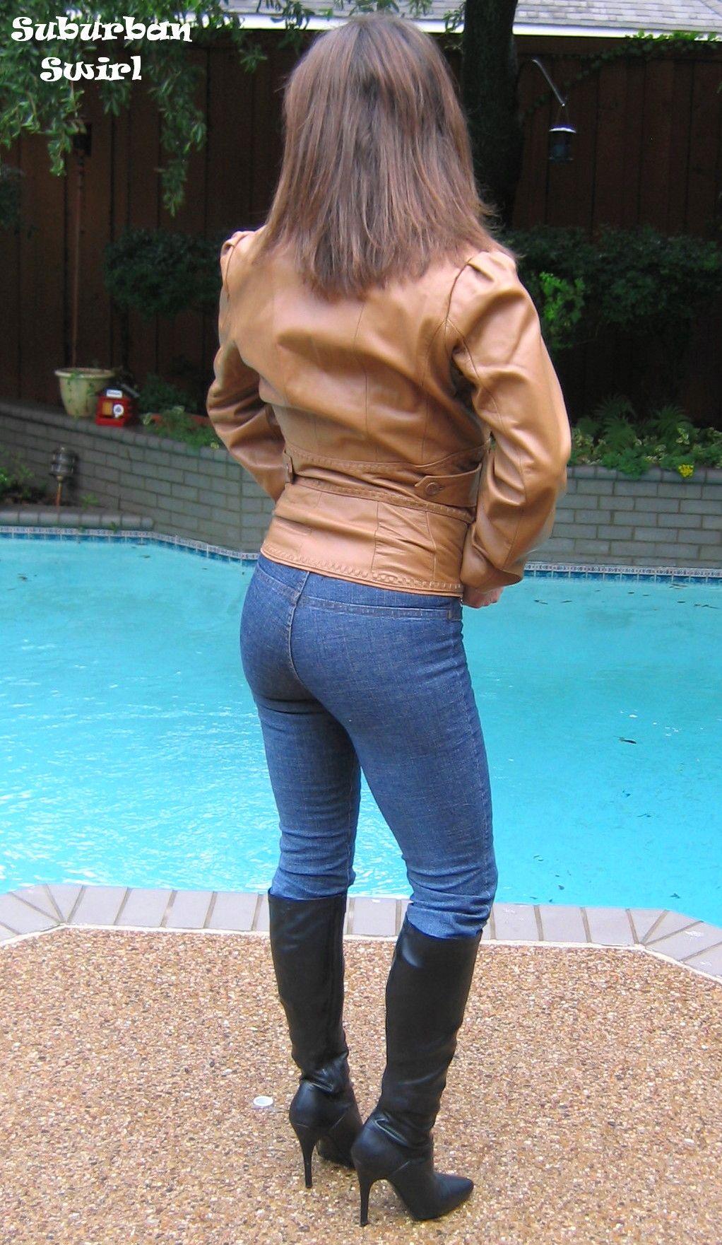 Pocketless Jean Shorts Suburban Swirl Jeans By Venus