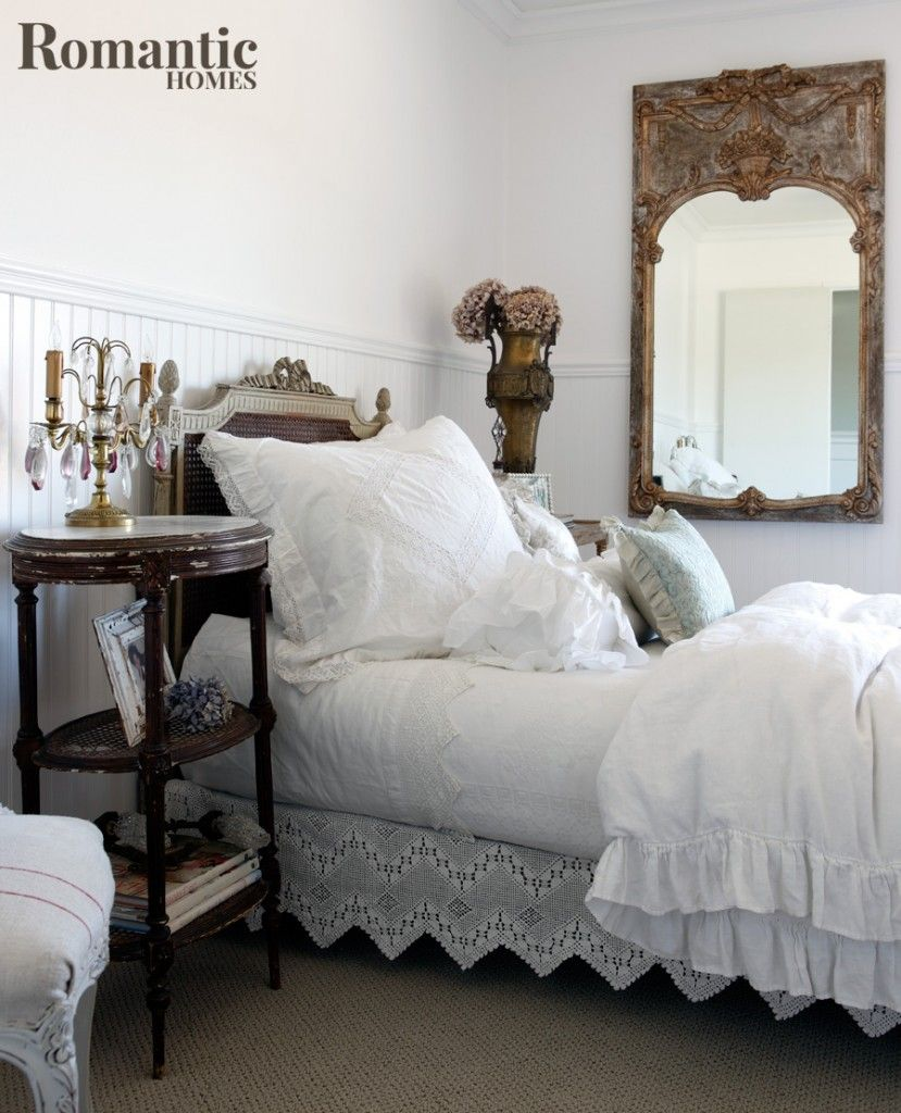 Vintage Romantic Bedroom Inspiration Sweet dreams are