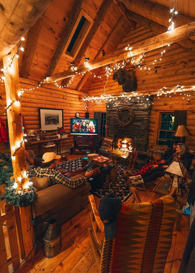 Cozy Mountain Weekend – #cabin #cozy #Mountain #weekend