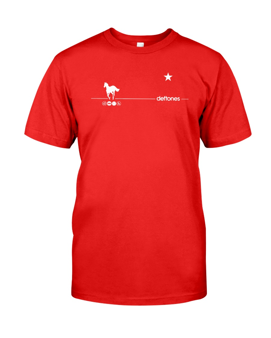 Deftones White Pony 20th Anniversary Red T Shirt In 2021 [ 1125 x 900 Pixel ]