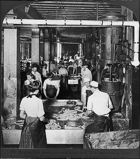 upton sinclair and the problems with meat packing industry Upton sinclair published the jungle in 1905 to expose labor abuses in the meat packing industry  for mcclure's magazine and was one of the first women muckrakers.