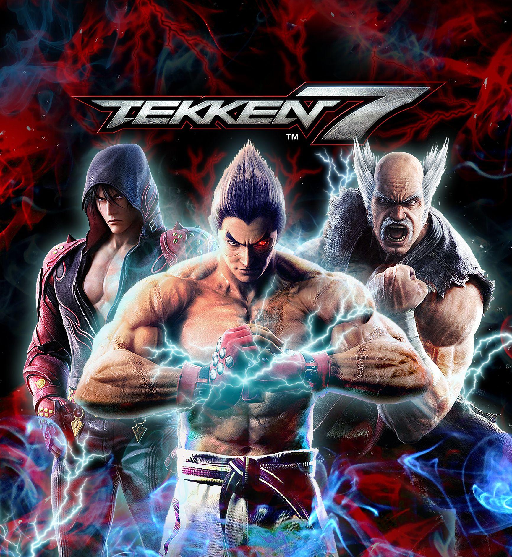 Https Fr Pinterest Com Skullchase My Poster From Tekken 7