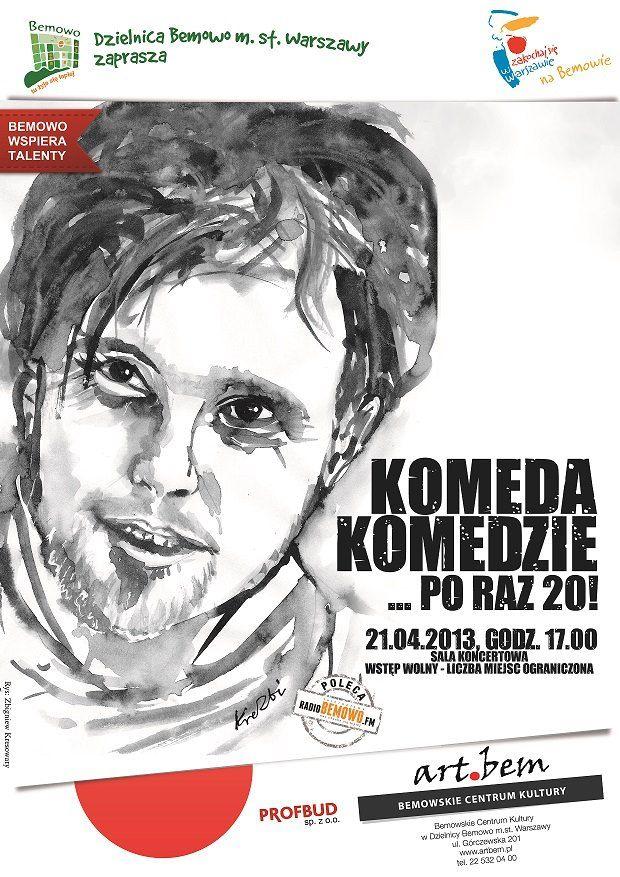 Komeda Komedzie... po raz 20!!! - Warszawa - Informator Kulturalny Gdzieco.pl