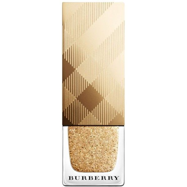 Burberry Iconic Color Festive Nailpolish ($22) ❤ liked on Polyvore featuring beauty products, makeup, no gold, burberry makeup, burberry and burberry cosmetics