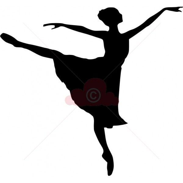 photo relating to Ballerina Silhouette Printable called Printable Ballerina Silhouettes Ballerina Silhouette