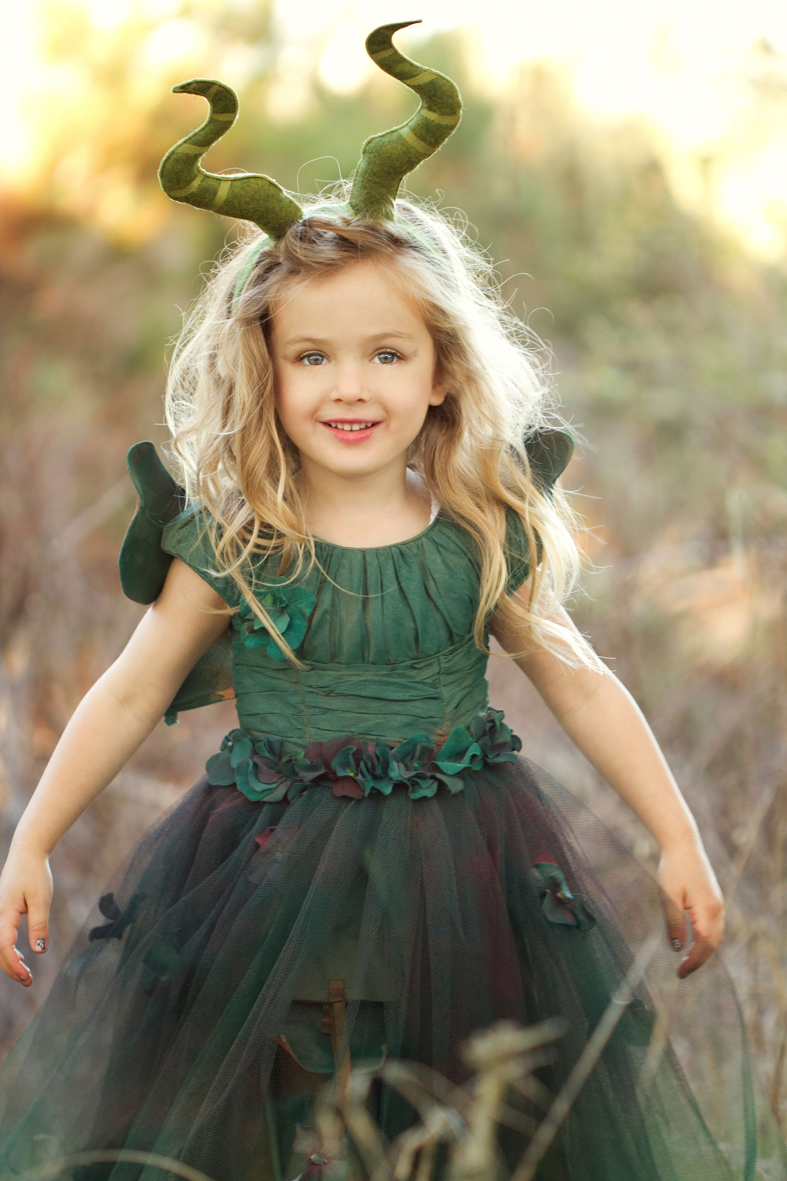 Young Maleficent 4 year old Horns by ...
