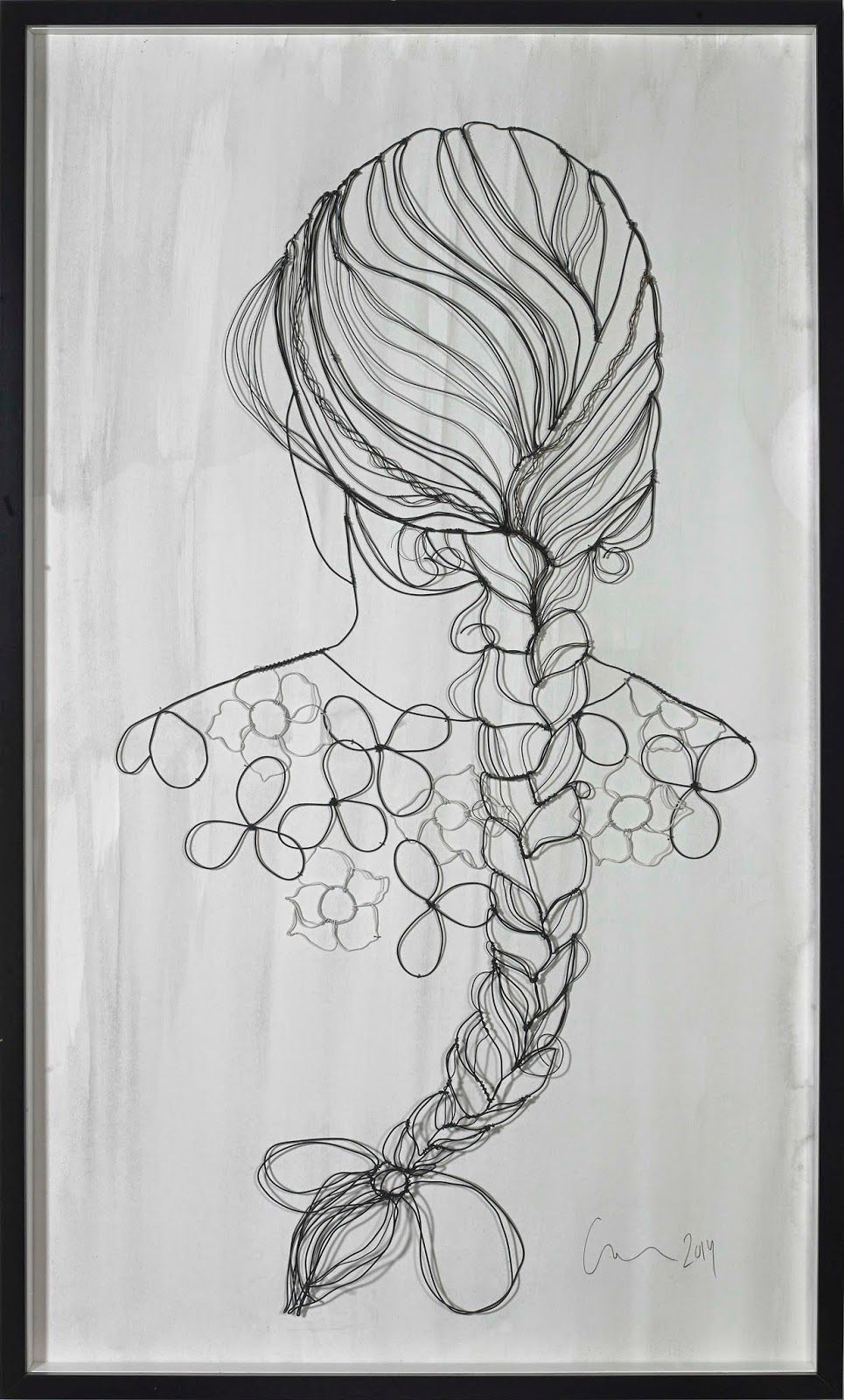 sculptural drawing by christina james nielsen: October 2011 | wire ...