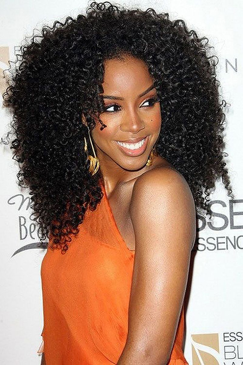 celebrity | go back > images for > kelly rowland curly