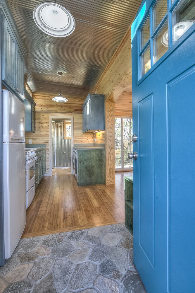 Happy Twogether by Custom Container Living | Bamboo floor, Tile ...