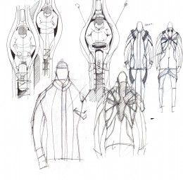 Audi Suit Project - Design Sketches by Cherica Haye and Nir Siegel