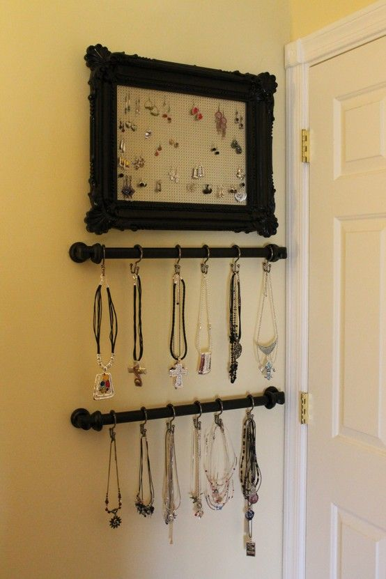 A Blessed and Blissful Life: Creative DIY Jewelry Displays