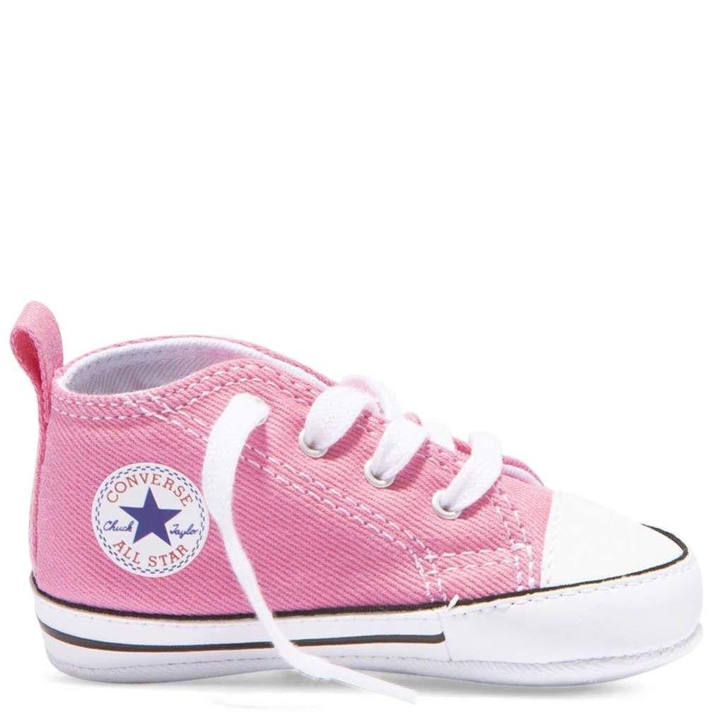 papel Concesión Parcialmente  Baby Converse Chuck Taylor First Star Infant High Top Pink | Baby shoes,  Baby converse, Pink converse
