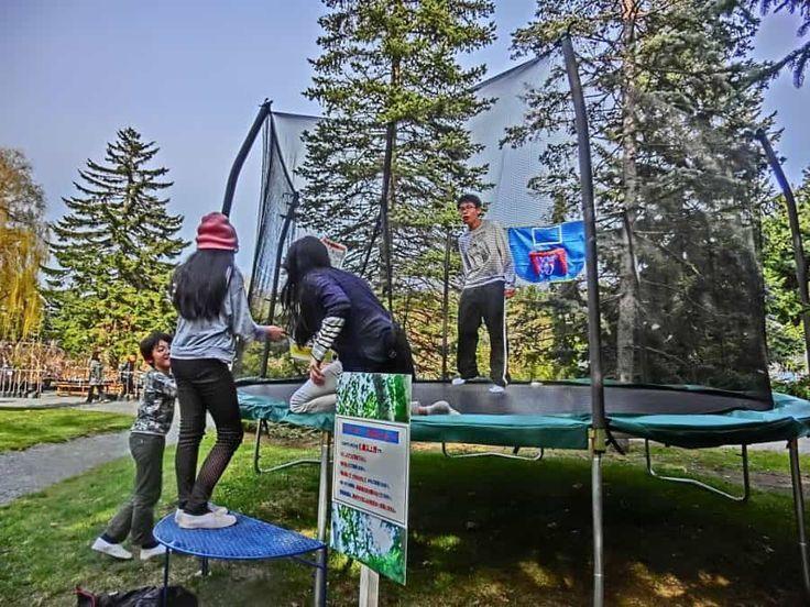 """Kids love trampolines! Playground trampoline """"Kids Tramp"""