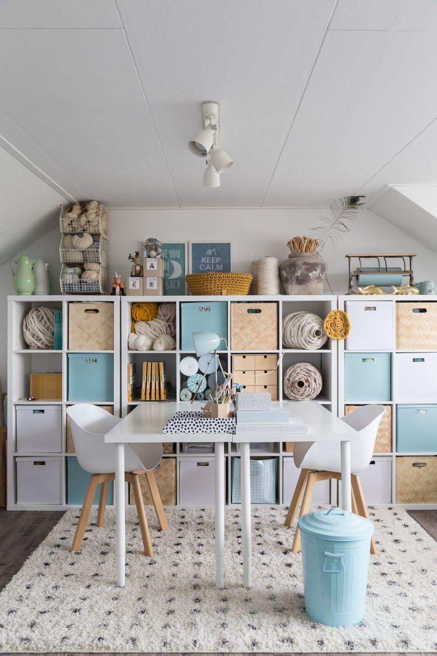 Hoe richt je een craftroom in