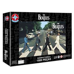 Quebra Cabeca The Beatles 1000 Pecas Estrela Com Preco Especial Aqui No Casasbahia Com Br Beatles Quebra Cabeca 1