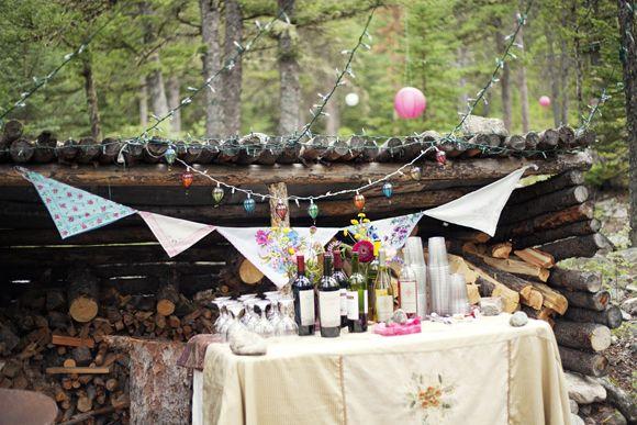 Wedding Drink Table Wedding Bells Jenny Bryan Free People