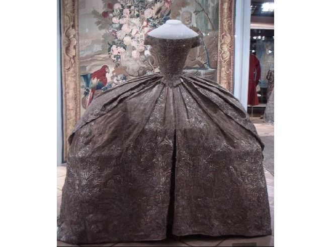 Catherine the Great of Russia's wedding gown-different