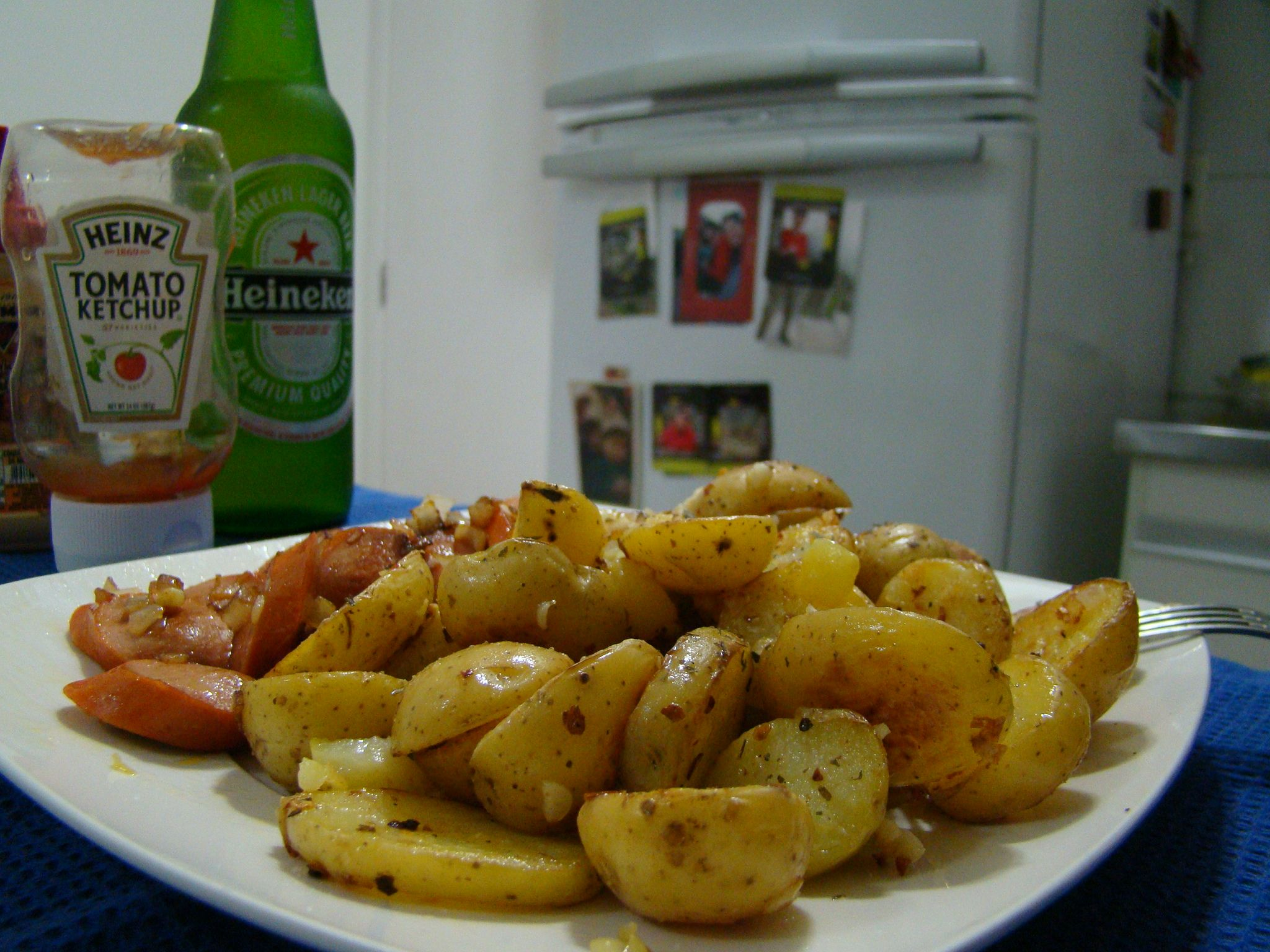 salsicha y papas fritas! #athome