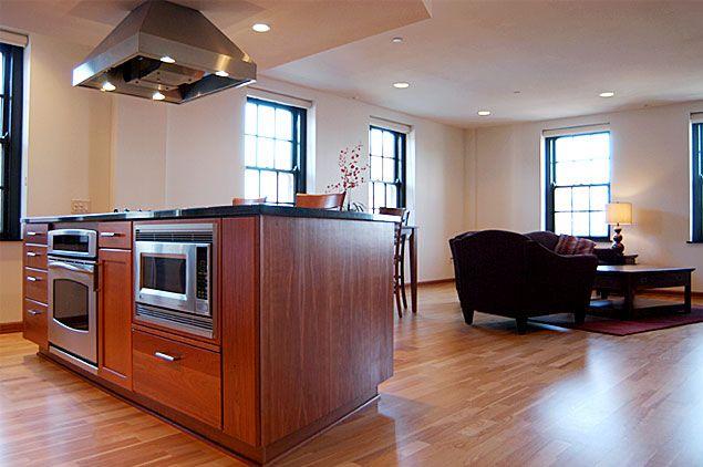 island cooktop kitchen remodel