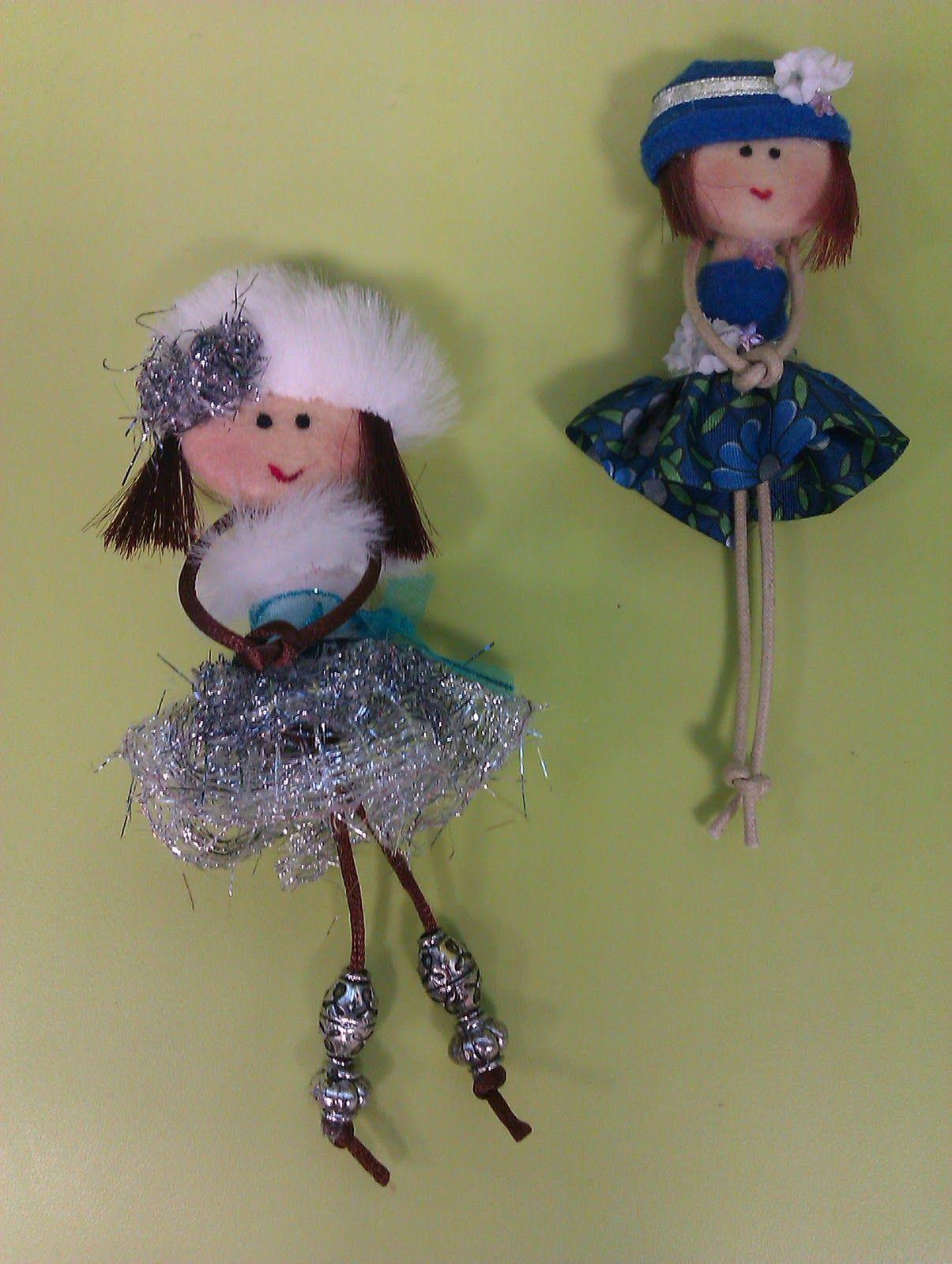 Hoy os traigo unas nuevas muñecas. Mas planas y estilizadas. La ...