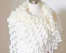 online store 313c1 f8aa1 Scialle da sposa, Wedding scialle, scialle, Coprispalle da ...