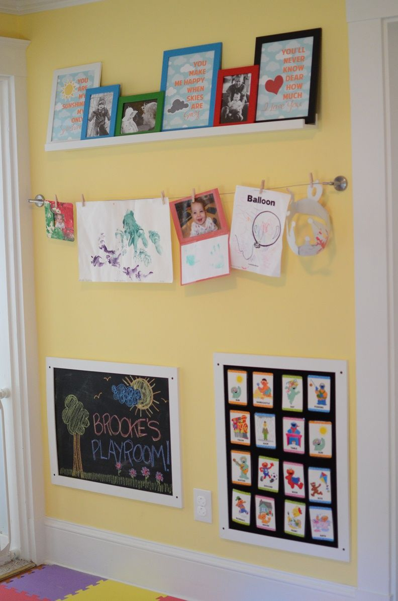 playroom artwork project...kerryspapercrafts.com | For the Home ...
