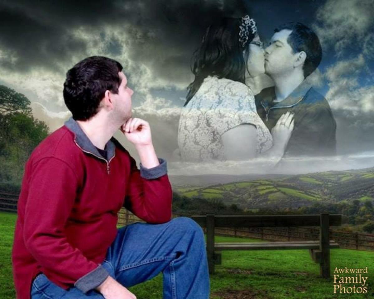 Картинка парочка влюбленных смешная