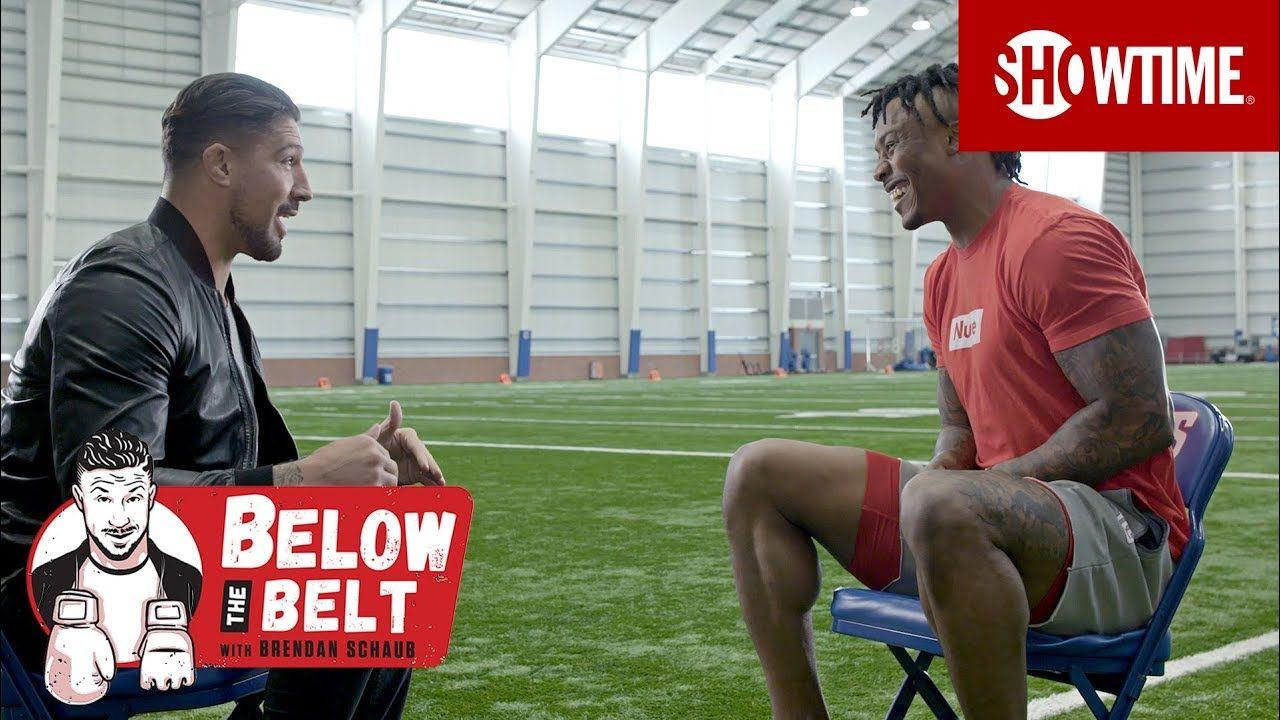 more photos ab261 19fd6 Schaub & Brandon Marshall on NFL Training & Anthony Joshua ...
