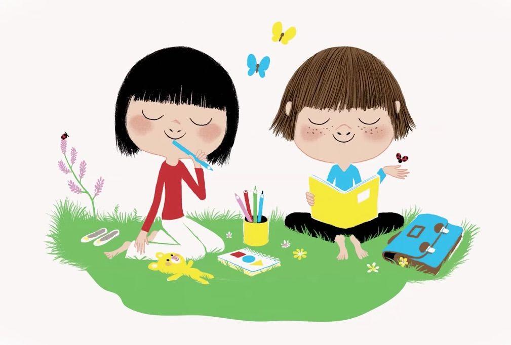 Meditation De La Pluie Pour Les Enfants Un Cœur Tranquille Et Sage Meditation Enfant Relaxation Enfant Meditation Guidee