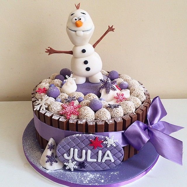 httpinstagramcomfelipeoliveiraofficial kit kat cake olaf