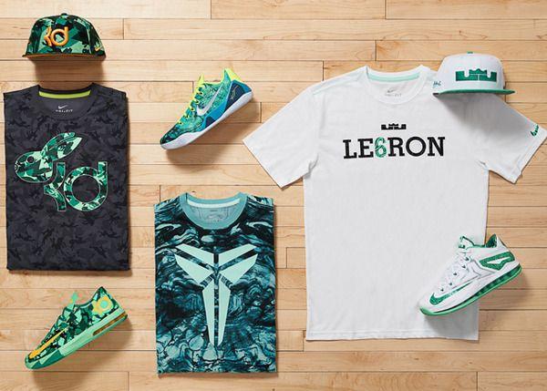 Nike Basketball Tee Designs 2014 part 1 by Eugene Serebrennikov, via Behance