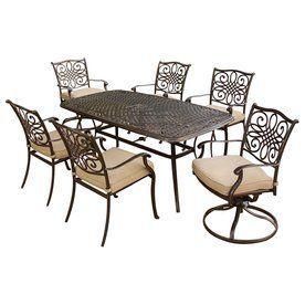 Hanover Outdoor Furniture 7 Piece Patio Dining Set Item