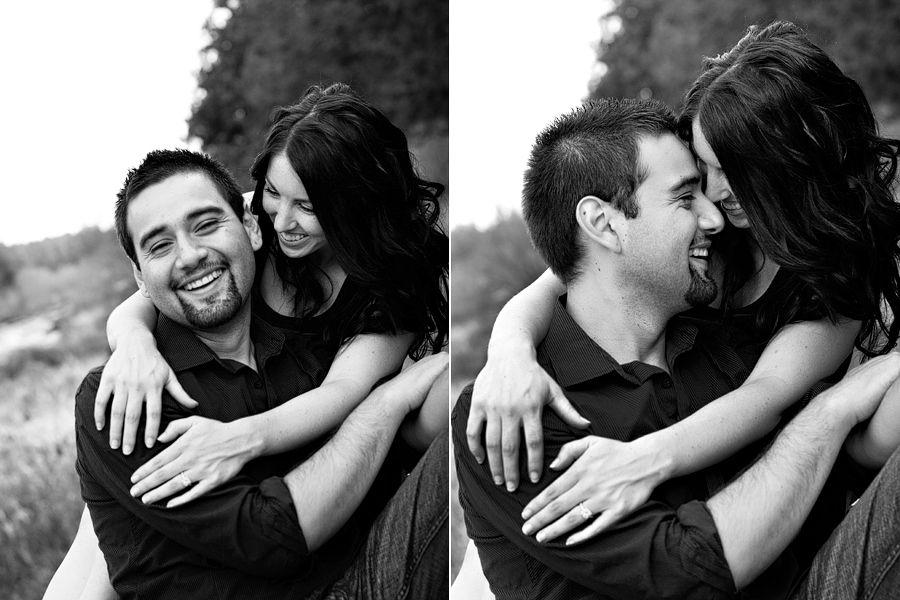 Engagement photos at Eagle Crest Resort