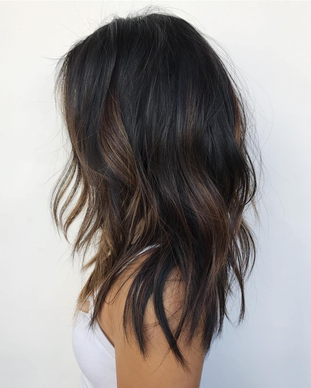 jawdropping partial balayage hairstyles subtle brown