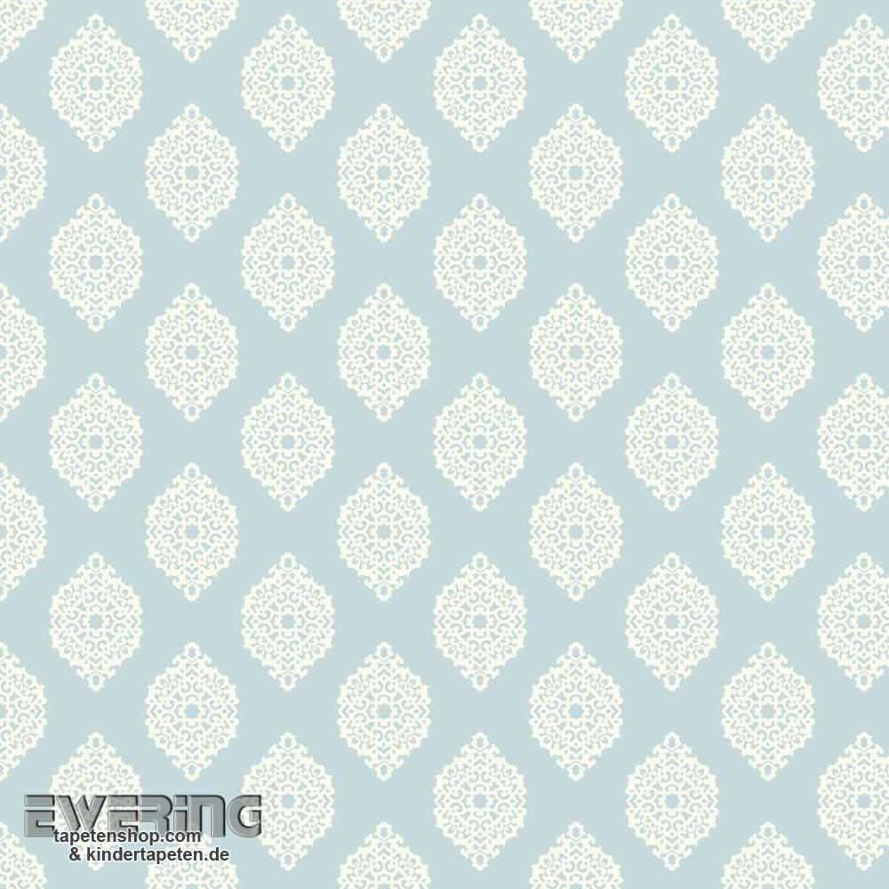 Rasch Textil Waverly Small Prints 23-327327 Ornament hell-blau