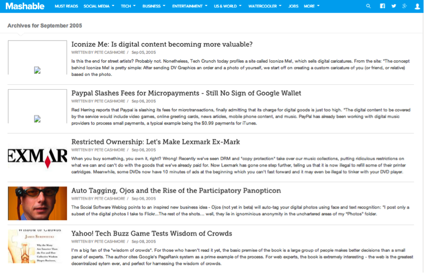 Deconstructing How Mashable, ProBlogger & KISSmetrics Reached Millions of Readers